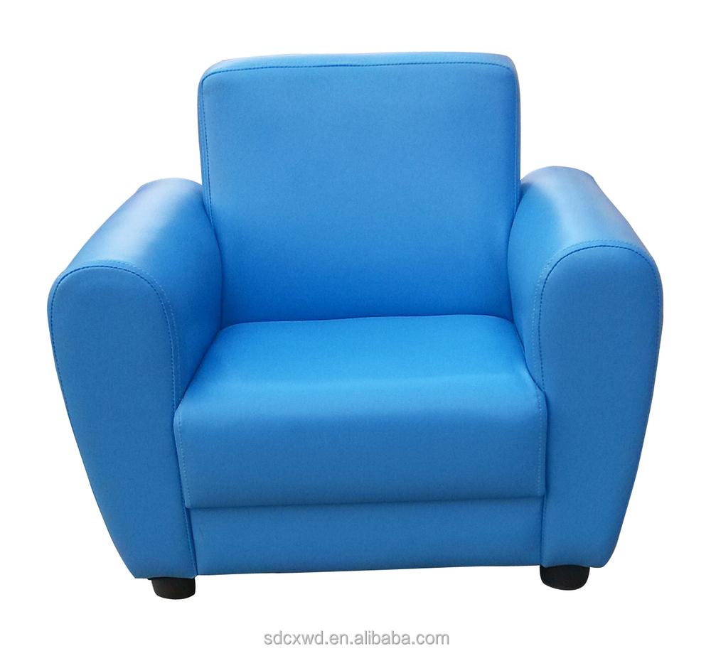 Blue Soft Fabric Lovely Mini Children Sofa,Kids Sofa