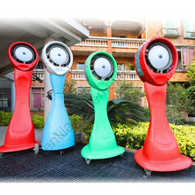 2014 Newest Portable Standing Outdoor Industrial Water Mist Fan