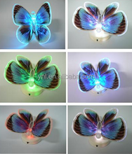 NEW Home Room Decor Lamp Magic Colorful Romantic LED Night Light Butterfly Chair