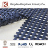anti slip 3'x3' rubber interlocking mats