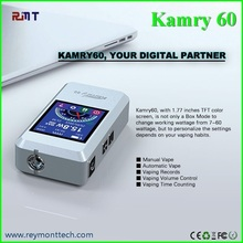 hot selling variable wattage box mod 18650 battery mod kamry 60 watts in stock