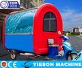 3 rodas Electro - triciclo de venda automática carro para venda de alimentos