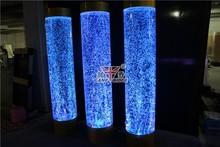 Colorful Designer Aqua Bubble Vase Tabletop Lamp