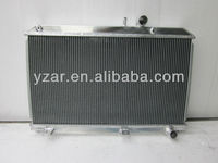 High performance aluminum radiator for MAZDA RX7 FD FD3S ALUMINUM ALLOY RACING RADIATOR 92-95 MT