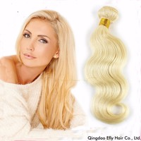 High Quality Body Wave Wholesale And Retail Brazilian Virgin Hair Bundles With Color 613 Lace Closure