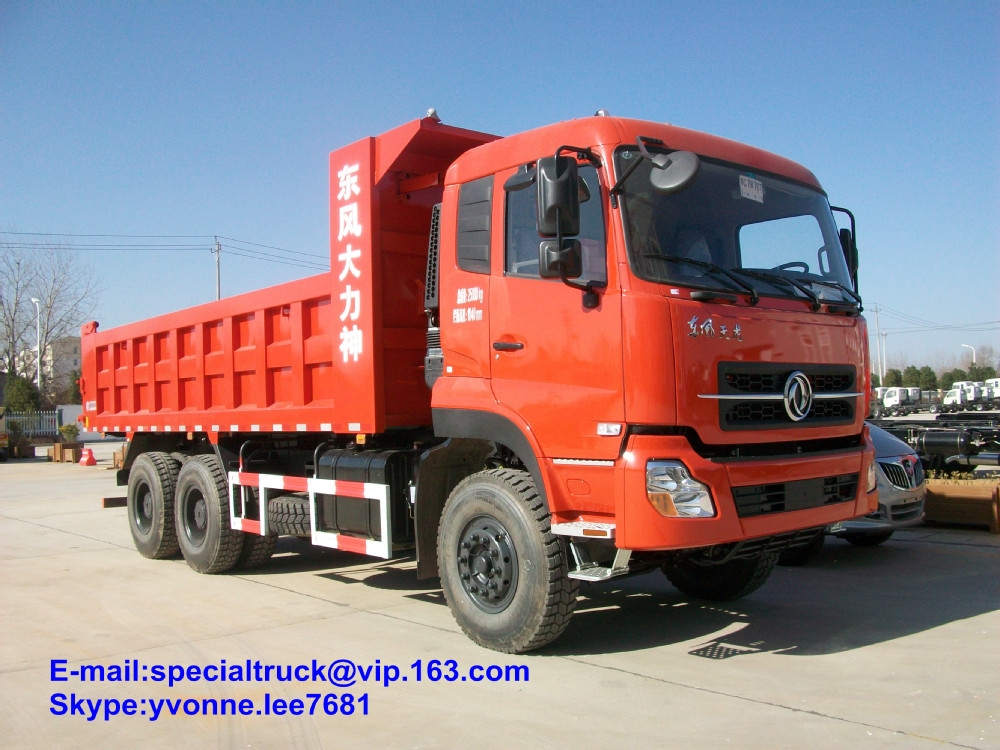 Dongfeng 6*4 dump truck for sale