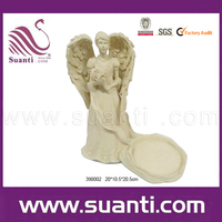 2015 custom wholesale white Angel statue 390002