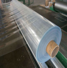 200 Micron Thick Plastic Sheet of PVC Transparent Film Rolls