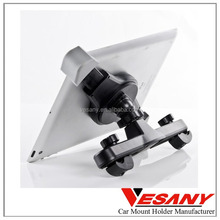 Vesany Provide Customized Hot Selling 360 Rotating ABS Back Seat Universal Car Holder For Tablet
