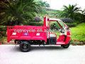 de la rueda 3 canopy con motor eléctrico para triciclo de carga
