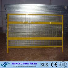 welded mesh fence/dog run fence panels/plastic garden edge fence