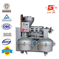 agricultural equipment screw squeeze coconut oil processing machine oil mill