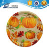 Round plastic serving tray of halloween day