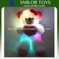 Comercio al por mayor de batería LED luz de noche de oso de peluche juguete de felpa