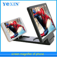 New Promotional Gifts Portable Stand Cellphone Screen Magnifier/ 3D Enlarged Mobile Phone Screen Magnifier