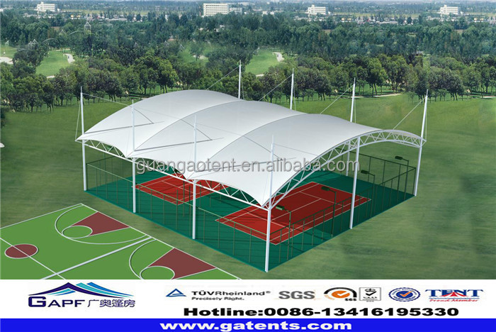 outdoor inflatable membrane structure sports tent dome ...