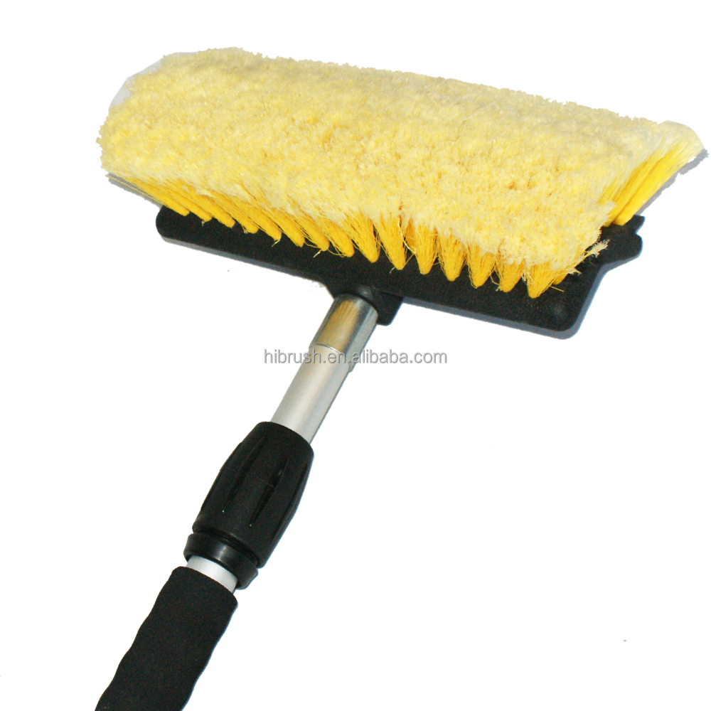 Car Wash Brush With Squeegee,Auto Washing Brush,Camper Washing Brush ...