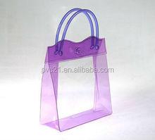 Alibaba China supplier new product ladies rhinestone purses plastic pvc bags designer women fashion pvc bags wholsales