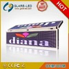 new product P20 tri-color led scrolling message sign hot sale