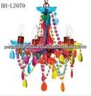 O mais barato colorido lustre de vidro