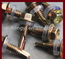 all kinds of screws hex washer head self-drilling screw galvanized rigging screws