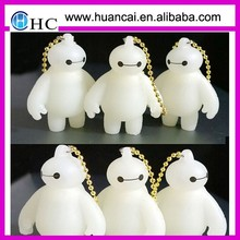 custom shaped model reflective pvc keychain, 3d rubber keychain