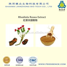 GMP factory best price hot products rhodiola rosea powder extract/Salidroside 1%-10%