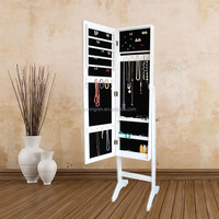 Factory ikea standing jewelry armoire mirrors