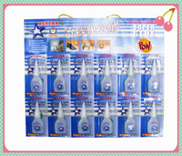 2015 hot selling cheaper price and good quality 3g 100% CA power glue with 12pcs per card