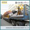 PLC control 80T/H mobile asphalt machine,SINOSUN QLB80 mobile asphalt mixing machine