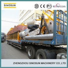 PLC control 80T/H mobile asphalt machine,SINOSUN QLB80 mobile asphalt mixing machine