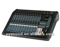 professional audio 12 channel power mixer PMX-12