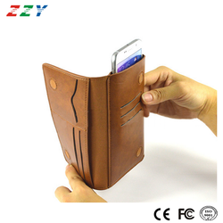 China Factory wholesale PU leather mobile phone case for Iphone 6S