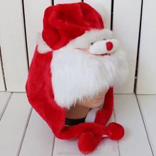 2015 New Children Fur Christmas Hat Kids Fur Santa Hat