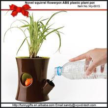Aesthetic appearance stump shape flower pots for sale