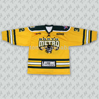 sports jersey hockey custom printed ice hockey apparel