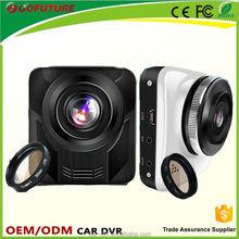"2.4""TFT screen free folding FHD 1080p 120 degree lens car dvr camera"