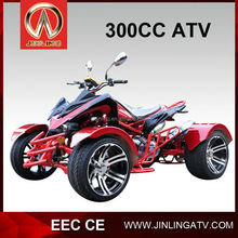 China EEC 300cc buggy Jinling factory direct atv with loncin atv parts alloy wheel