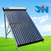 Pressurized solar collector for heat pipe solar water heater