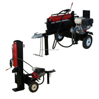 Classical type 28T Vertical or Horizontal CE gasoline engine log splitter for garden tractor