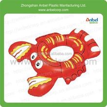 inflatable beach ring float swim ring animal