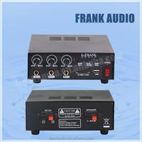 MP3 USB SD 12V 30W desktop professional Amplifier
