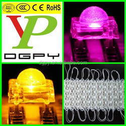 4 pin 5mm piranha led super flux with water clear lens ( CE & RoHS Compliant )