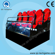 Electric Arcade Entertainment equipment 5d cinema with cabin