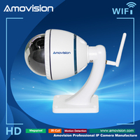 Amovision Auto Focus 4X Optical Zoom HD 720P wifi mini speed dome camera ip wireless