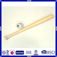 promotional durable birch wood mini baseball bat