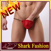 Wholesale Shark Fashion Free Sample Thong g string man sexy Underwear gay underwear