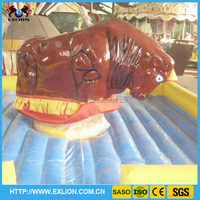 Outdoor carnival amusement rides mechanical bull rodeo/inflatable rodeo bull for sale!