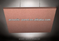 suspended absorber space sound absorber acoustic fabric suspended ceiling