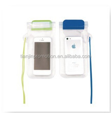 Hot selling waterproof pvc fancy mobile pouch with hanging